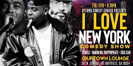 New York invasion of Comedy at Uptown Comedy Corner  tickets