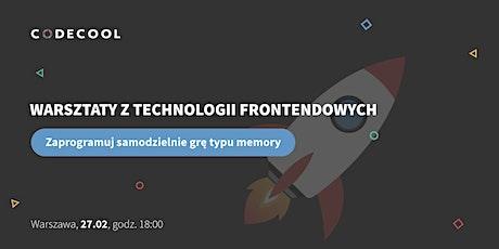Warsztaty z programowania frontendowego - Sprawdź się zanim zaczniesz! tickets