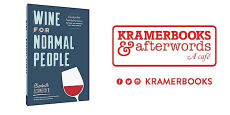 Wine for Normal People - Book Talk + Wine Tasting  tickets