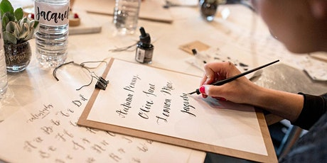Justine Ma: Beginners Contemporary Calligraphy Workshop tickets