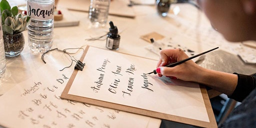 Justine Ma: Beginners Contemporary Calligraphy Workshop
