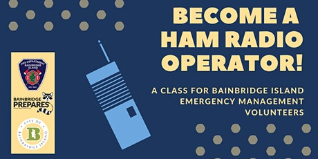 Become a HAM Radio Operator! tickets