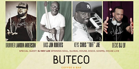 Soulful Sunday's Remixed w/drummer Landon Anderson LIVE at Buteco (Feb) tickets
