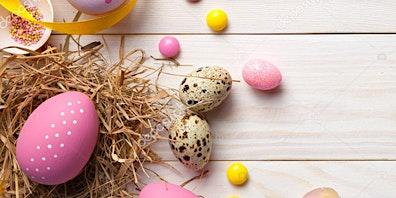 Express Yourself- Easter Basket Floral Arrangement