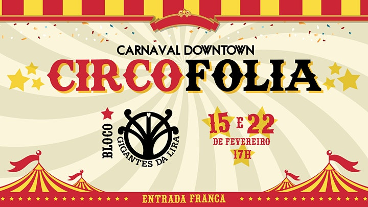 Imagem do evento CARNAVAL DOWNTOWN - CIRCO FOLIA