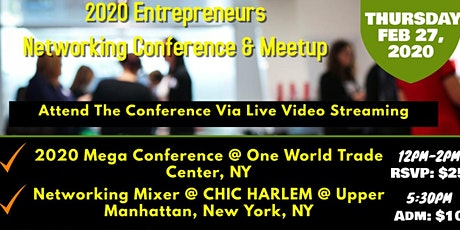 NY 2020 Entrepreneur's  Conference & After Party tickets