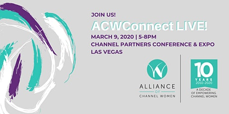 ACWConnect Live! Vegas 2020 tickets