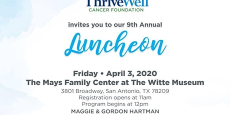 ThriveWell Annual Luncheon tickets