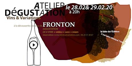 À la découverte des vins de Fronton tickets