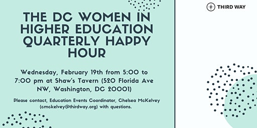 Winter DC Women in Higher Education Happy Hour