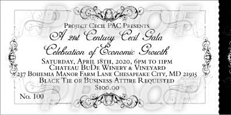 A 21st Century Cecil Gala-A Celebration of Economic Growth and Development tickets
