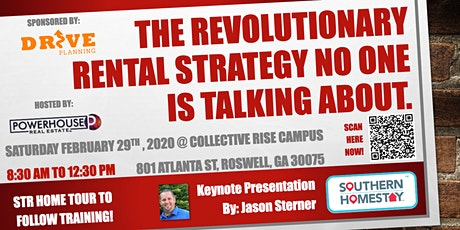 The Revolutionary Rental Strategy NO ONE is Talking about. tickets