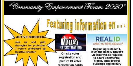 Community Empowerment Forum 2020 tickets