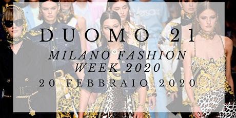 CFM / Milano Fashion Week 2020 @TerrazzaDuomo21 biglietti