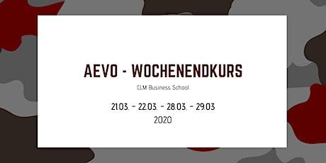 AEVO Wochenendkurs - Prüfungsvorbereitung Tickets