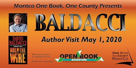 Montgomery County Libraries Present One Book, One County: David Baldacci tickets
