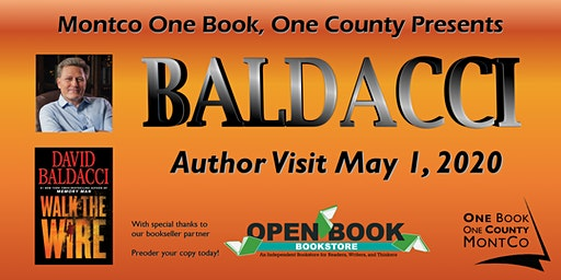 Montgomery County Libraries Present One Book, One County: David Baldacci
