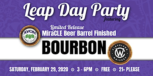 Leap Day Party at Cleveland Whiskey