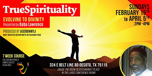 True Spirituality II -  7 week module workshop