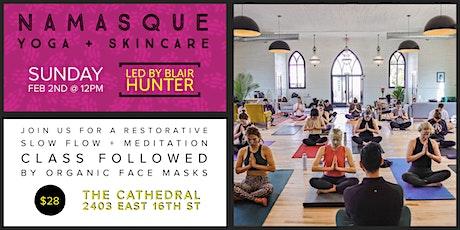 Namasque - Yoga + Skincare tickets