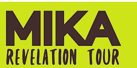 Mika. Revelation Tour - Coliseum A Coruña entradas