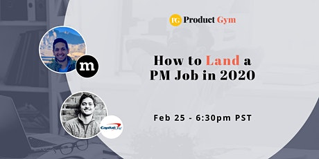 How to Land a Product Manager Job in 2020 w/ Mozilla & Capital One PMs tickets