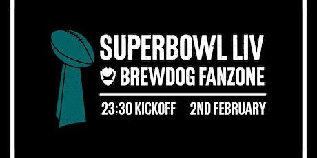 Super Bowl 2020 Live at  BrewDog Lothian Road tickets