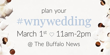 Plan your WNY Wedding tickets