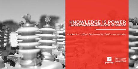 Understanding Rates and Cost of Service 2020 Seminar - October 6-7 tickets