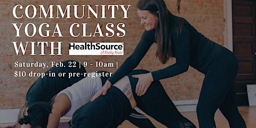 Community Yoga with HealthSource