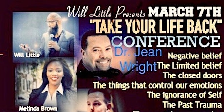 Take Back Your Life Conference tickets