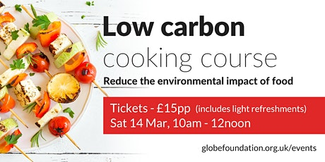 Low carbon cooking course tickets