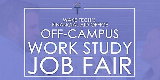 Wake Tech's Federal Work Study Spring Job Fair!