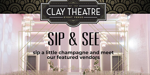 Venue Sip + See for Engaged Couples!