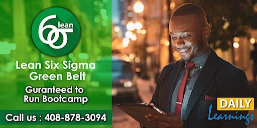 Lean Six Sigma Green Belt Certification Training in Little Rock