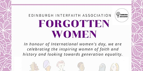 Forgotten Women in Faith | International Women's Day 2020 tickets