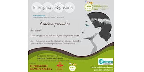 El enigma de Agustina - SIEF billets