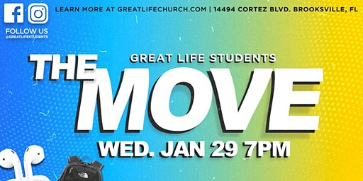 THE MOVE - Youth Event at Great Life Church