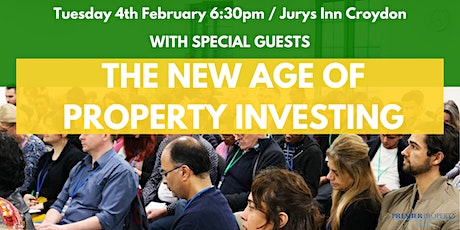 The New Age of Property Investing tickets