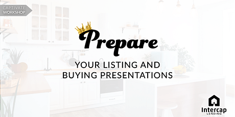Workshop: Prepare your Open House and Listing Advertising tickets