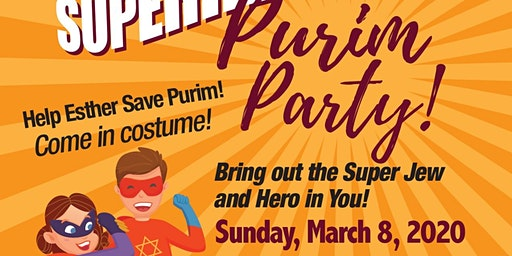 Superhero Purim Party