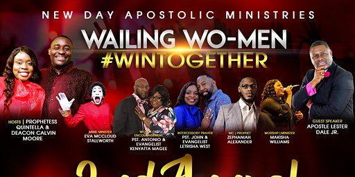 NDAMinistries 2020  Wailing Wo-Men #WinTogether 2nd Annual Conference