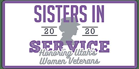 Sisters in Service 2020 - Honoring Utah's Women Veterans tickets
