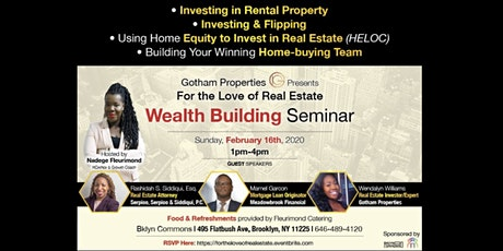 For The Love of Real Estate tickets