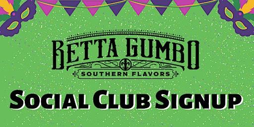 Social Club Signup