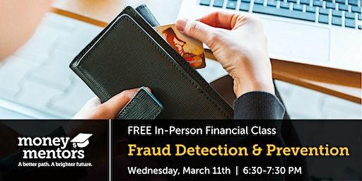 Fraud Detection & Prevention   Free Financial Class, Lethbridge