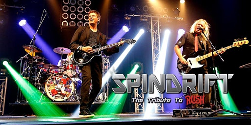 Spindrift The Rush Tribute at TAK Music Venue