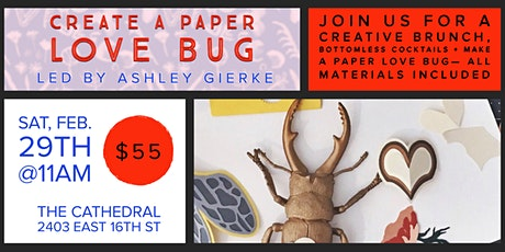 Create a Paper Love Bug With Ashley Gierke tickets