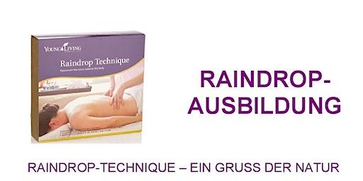 Raindrop Technique Ausbildung - Ein Gruß der Natur