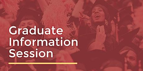 Colin Powell School Graduate Info Session tickets